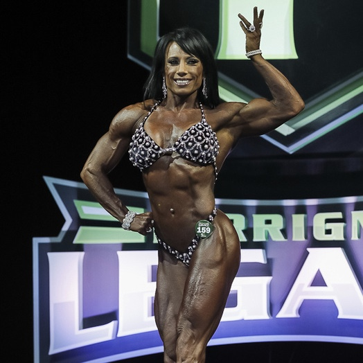 Melissa Pearo Places 4th at the 2017 Lou Ferrigno Legacy