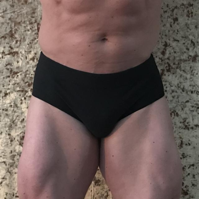 Men's classic physique trunks by Merry Christine Bodywear