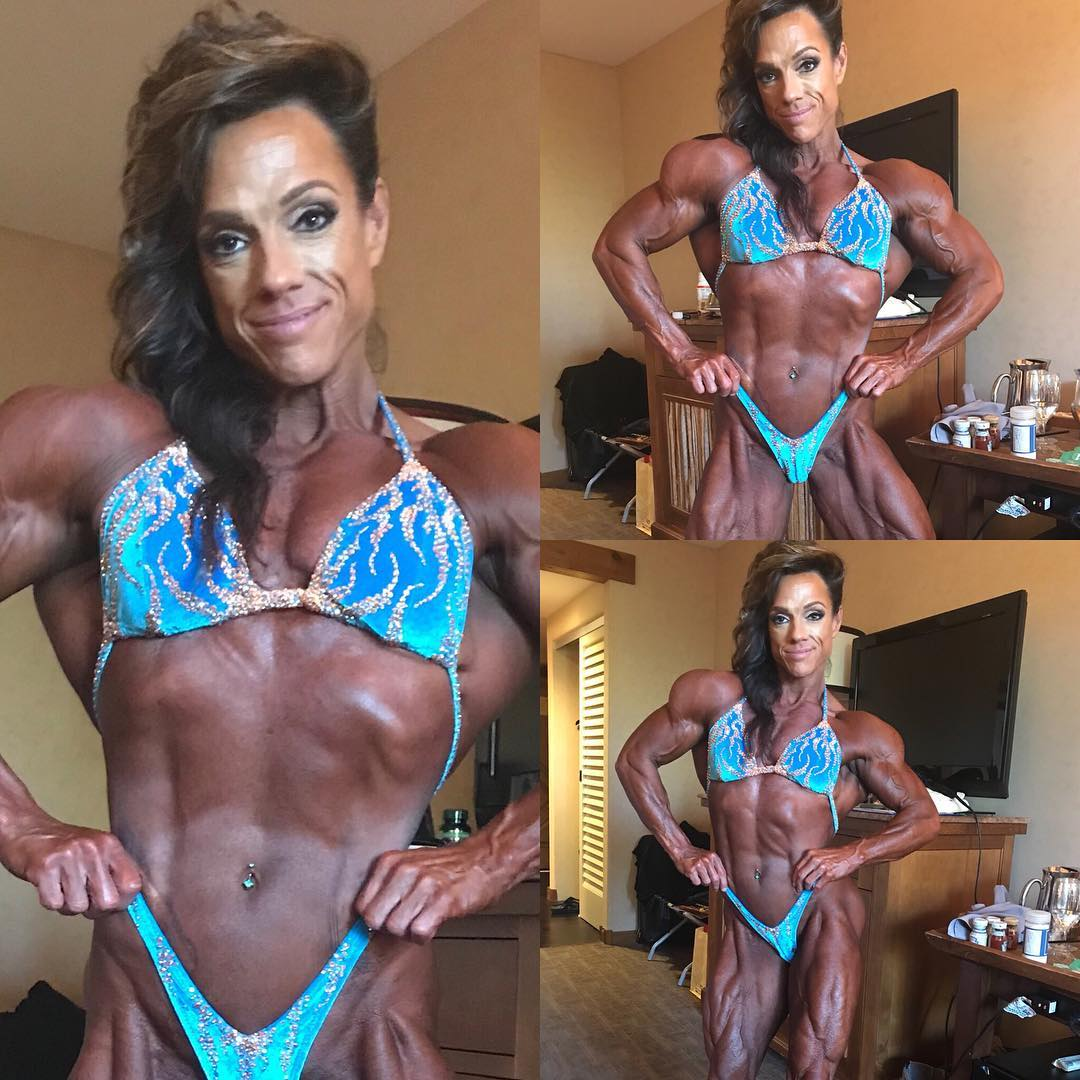 Sheila Bleck, the Wings of Strength Competition 2018, Merry Christine Bodywear Couture Competition suit