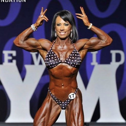 Melissa Pearo at the 2017 Olympia