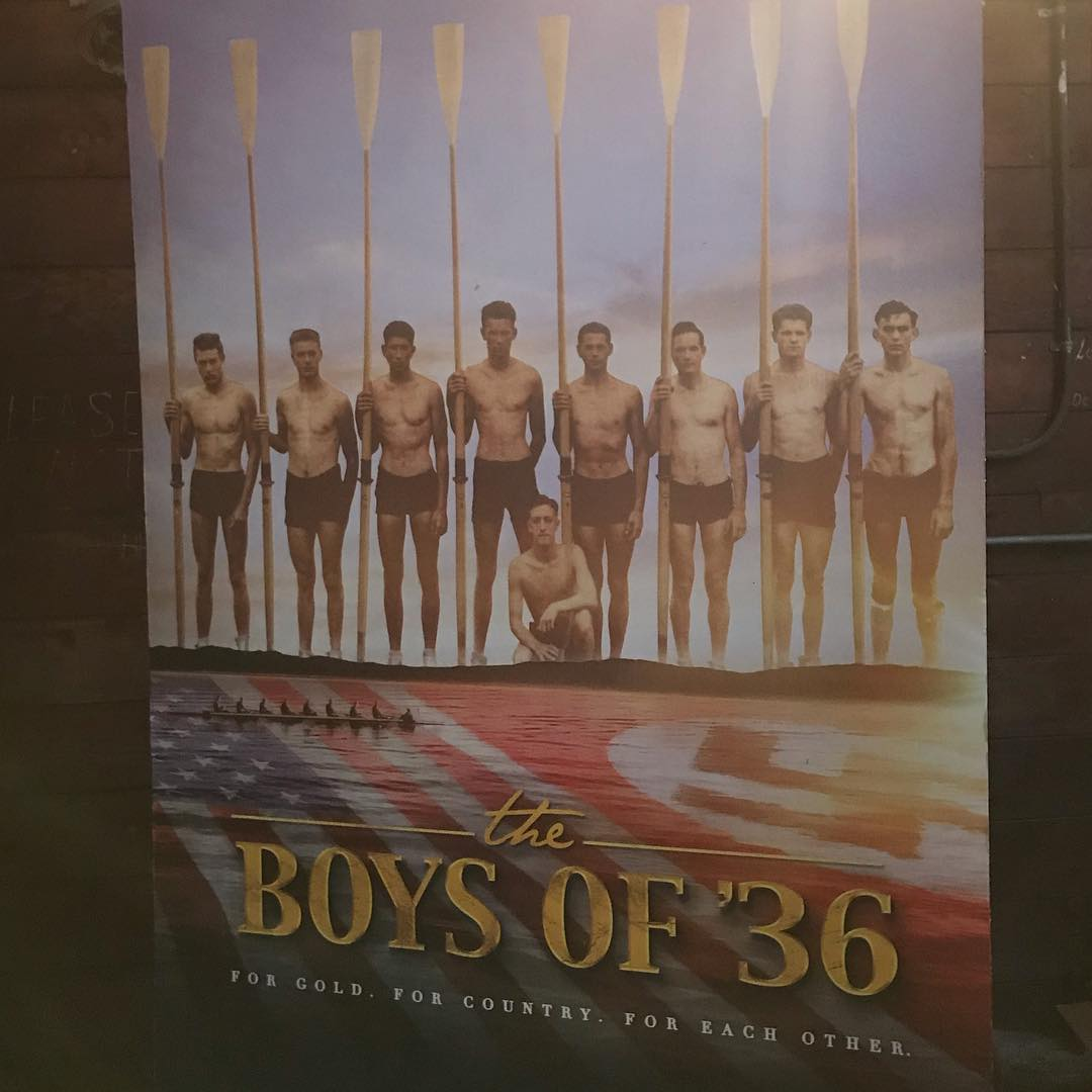 University of Washington The Boys of '36 poster