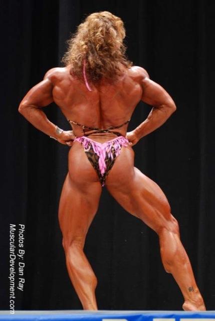 Women's fitness bodybuilding